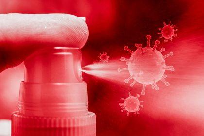 Coronavirus Virus Sanitizer Wash