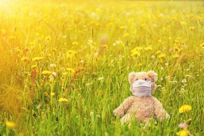 Meadow Spring Bloom Pollen Mask  - Bru-nO / Pixabay
