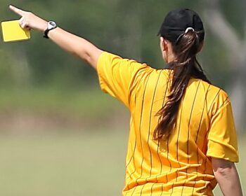 Soccer Referee Female Yellow Card  - KeithJJ / Pixabay